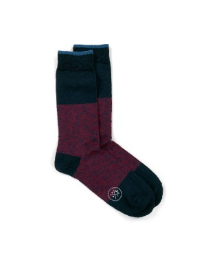 Chaussettes Montana Rouge Rubis