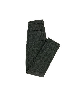 Black Slim Fit Selvedge Denim Jeans