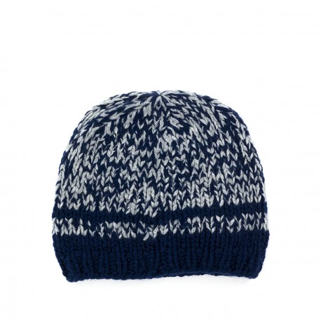 Bonnet Claus Bleu Ink Grey