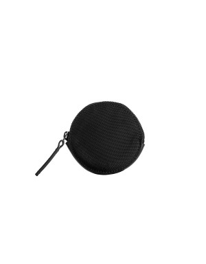 Headphone or Coin Case Black