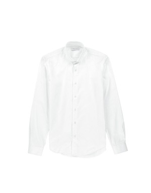 White Shirt Round Collar