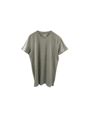T-Shirt Cotton and Elastane Khaki