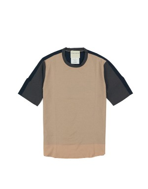 T-Shirt Patchwork Nude