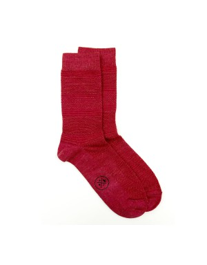 Chaussettes Harry Rouge Tangerine