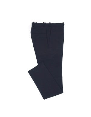 _Blue Cotton Linnen Trousers
