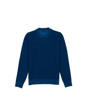 Cobalt Blue Merino Sweater