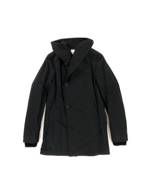 Quilted Cotton Coat Black