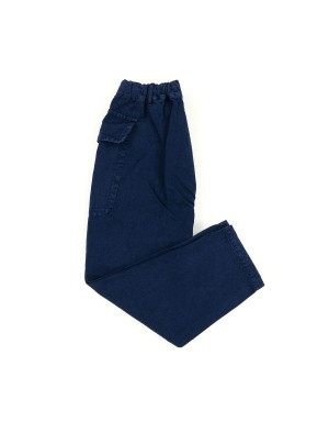 Blue Fatigue Cargo Trousers