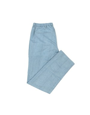 Light Blue Brushed Cotton Trousers