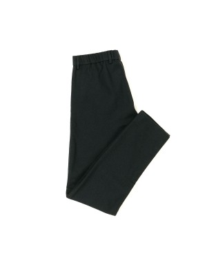 Charcoal Blue Wool and Cashmere Trousers