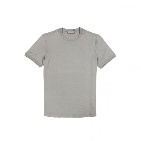 T-Shirt Gris Clair Coton Supima 60/2