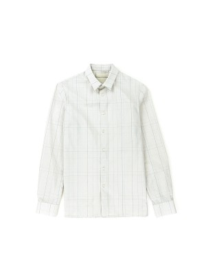Beige Checks Shirt