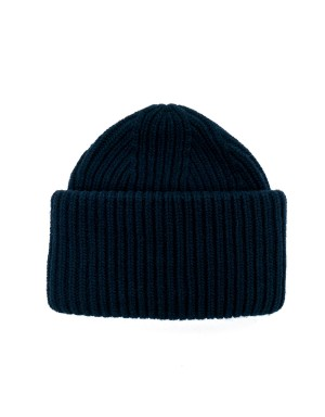 Wool and Casmere Beanie Navy