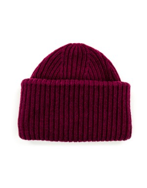 Wool and Cashmere Beanie Red