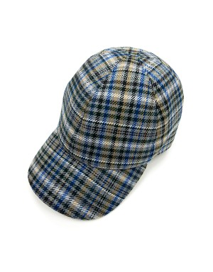 Multicolour Checks Cap