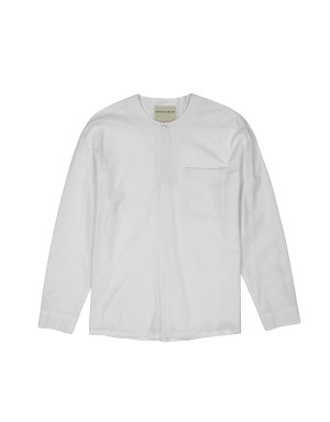 Ivory Pop-Over Shirt