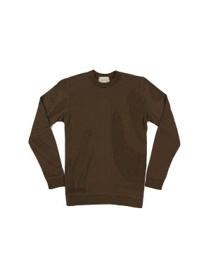 Walnut Cotton Sweater