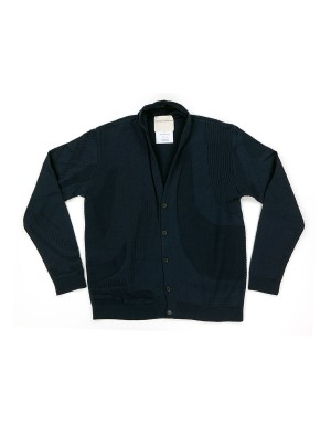 Navy Cotton Cardigan