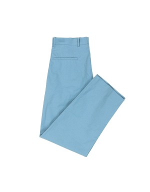Light Blue Large Cotton Trousers
