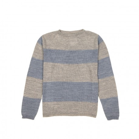 Exclusive MR - Sheer Striped Sweater