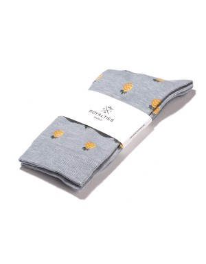 Chaussettes Pineapple Gris Orage
