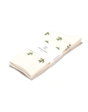 Arizona Socks Ivory