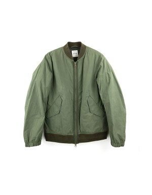 Khaki Cotton Bomber