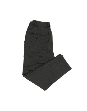 Charcoal Dropped crotch Trousers