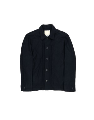 Night Blue Quilted Jacket
