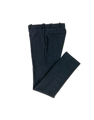 Navy Wool Trousers
