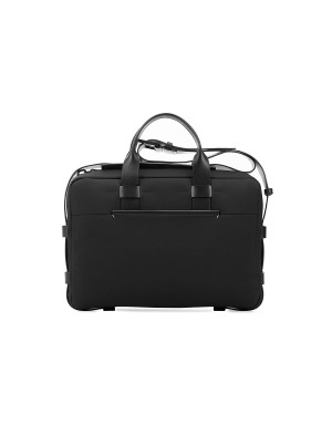 Briefcase Nylon & Cuir Noir