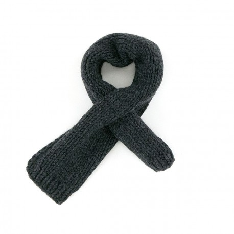 Paul Anthracite Grey Scarf