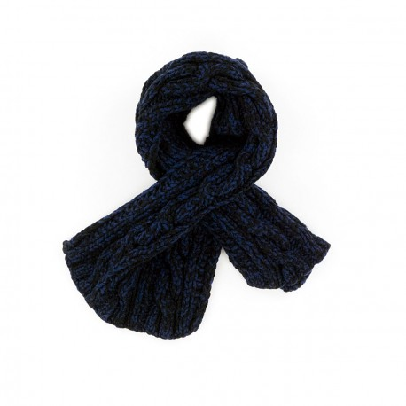 Chris Black and Ink Blue Scarf