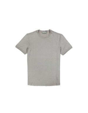 T-Shirt Coton Supima 60/2 Gris Clair
