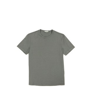 Medium Grey Giza Cotton 60/2 T-Shirt