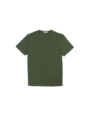 Khaki Giza Cotton 60/2 T-Shirt