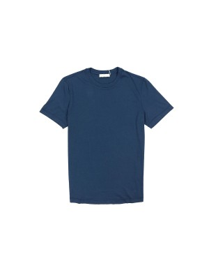 Navy Supima Cotton 60/2 T-Shirt