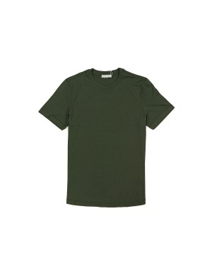 Khaki Supima Cotton 60/2 T-Shirt