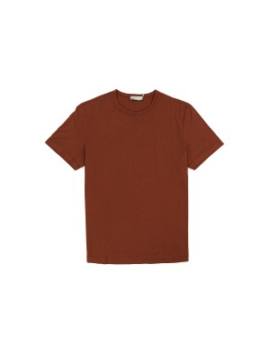 Rust Giza Cotton 60/2 T-Shirt