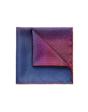 Navy Seabirds Pocket Square