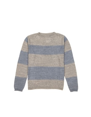 Exclusif MR - Pull Fin à Rayures