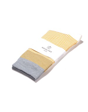 Breton Socks Yellow