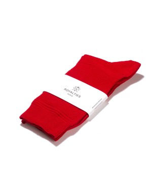 Harry Socks Carmin Red