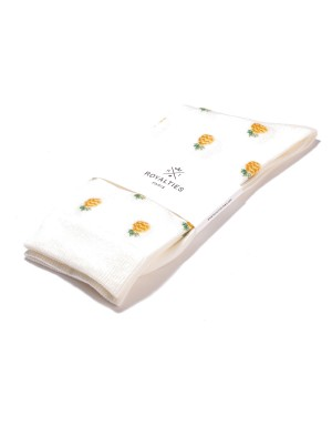 Chaussettes Pineapple Ivoire