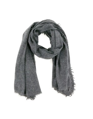 Lightweight Smoke Grey Scarf