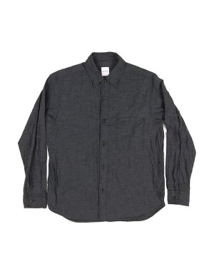 Charcoal Cotton Overshirt
