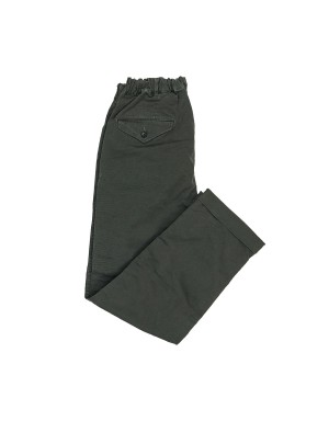 Charcoal Pegtop Trousers