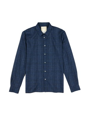 Cobalt Blue Cotton Shirt
