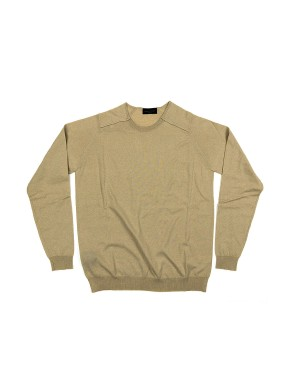 Thin Raglan Sweater Beige