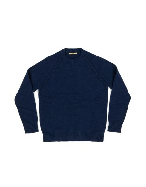 Indigo Blue Raglan Sweater